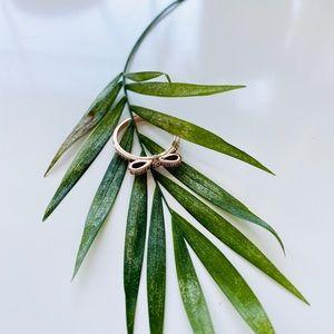 PANDORA Rose Gold Bow Ring